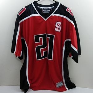 Men's 2xl Steve & Barry NC State red jersey